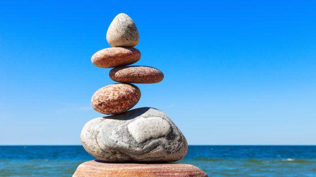 التوازن في عجلة الحياة