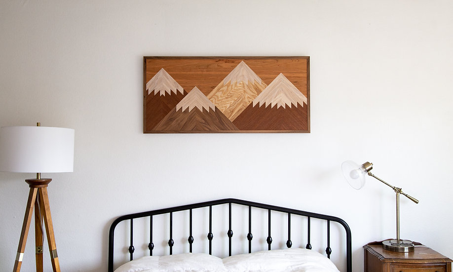 Mountainscape Wallhanging
