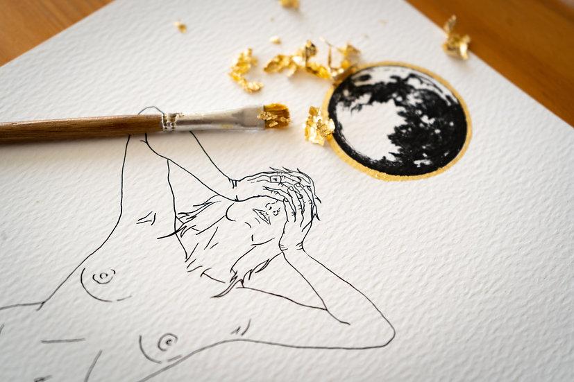 """Lunar Catharsis"" Giclee Print"