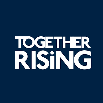 together rising logo