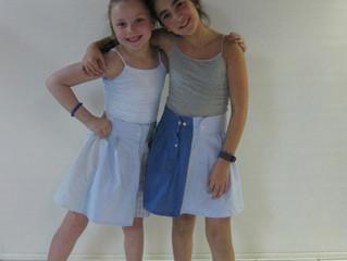 Showstopper Shirt Sleeve Skirts