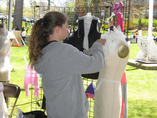 A Fashionable Day at The Westport Mini Maker Faire!