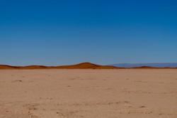 dunes de sable Erg Smar