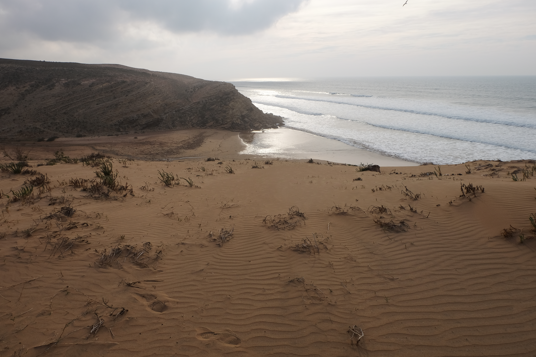 Plage du Maroc, nature