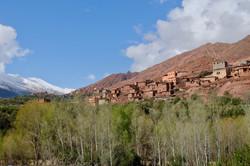 les sommets de l'Atlas au Maroc