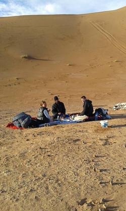 Excursion dans le désert