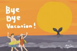 bye bye vacation-sea