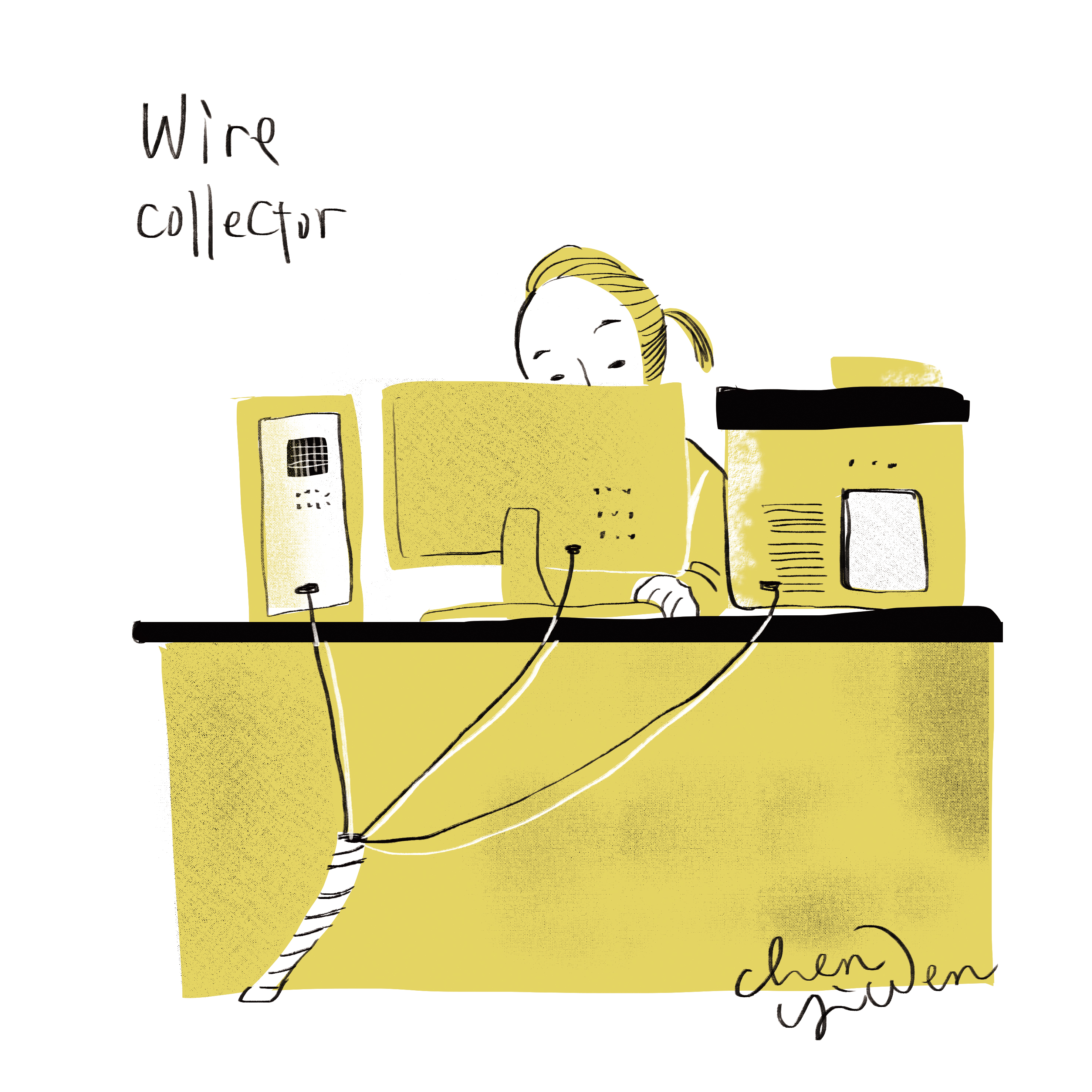 wire collector
