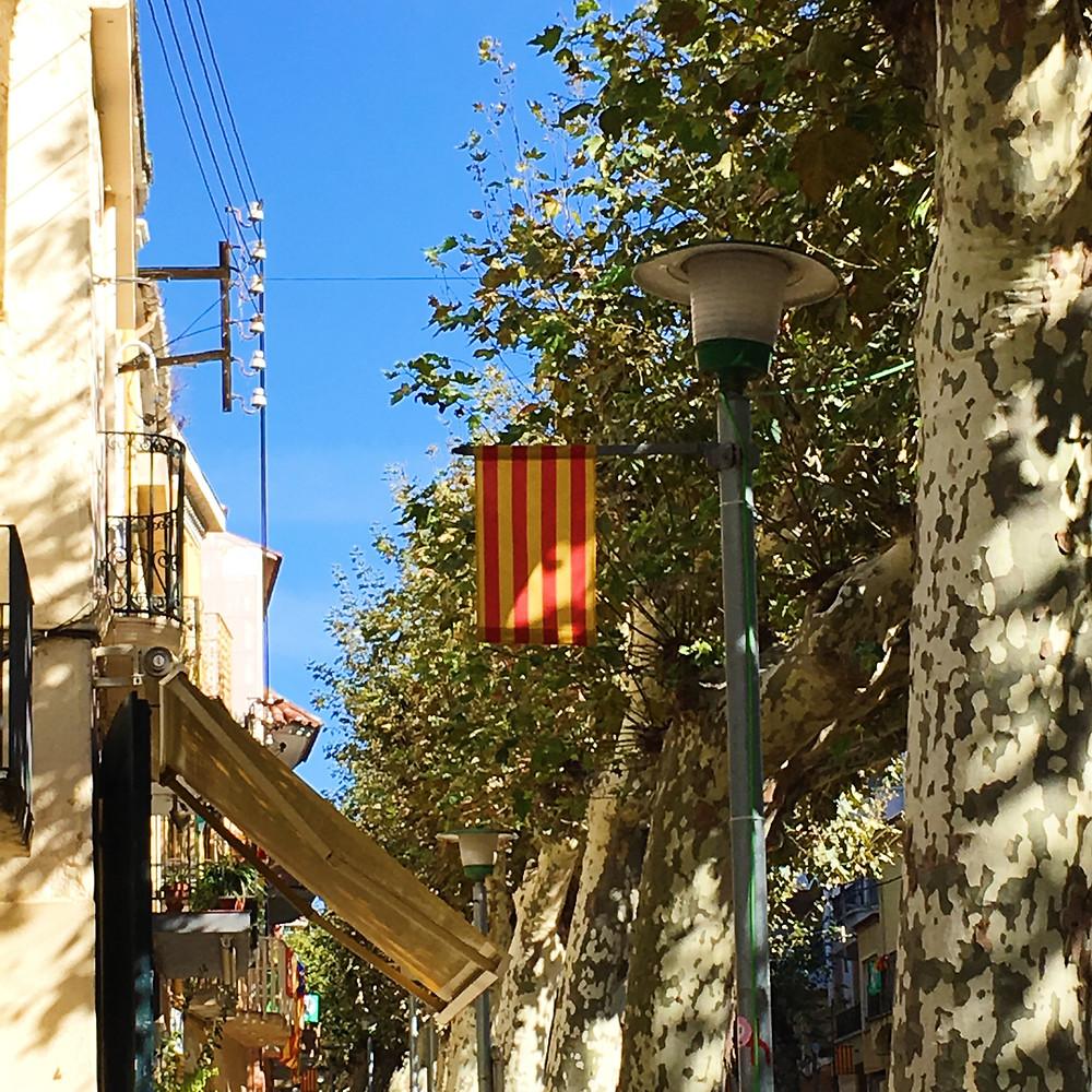 原始的加泰隆尼亞旗幟