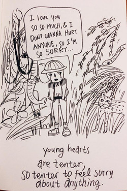 tender young heart