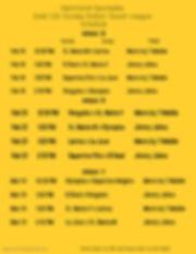12U Gold Week 2-4 Schedule 2020 - Made w