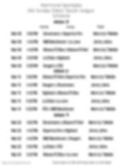 14U Week 5-7 Schedule 2020 - Made with P