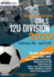 Girls 12G Division - Made with PosterMyW