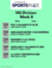 14U Week 8 2020 - Made with PosterMyWall