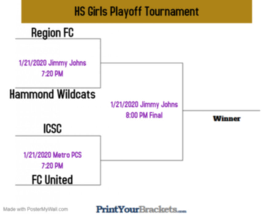 HS Girls Playoff Tournament - Made with
