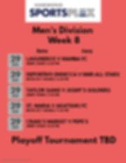 Mens Week 8 2020 - Made with PosterMyWal