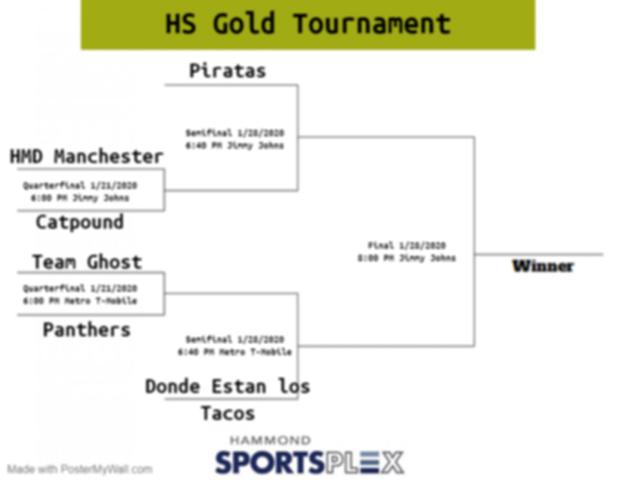 HS Gold Playoff - Made with PosterMyWall