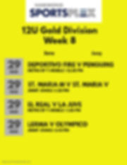 12U Gold Division Week 1 2020 - Made wit