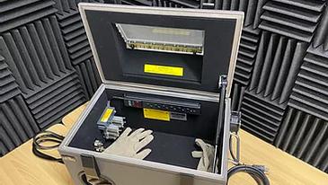電波シールドボックス(ハンドイン+観察窓付き)