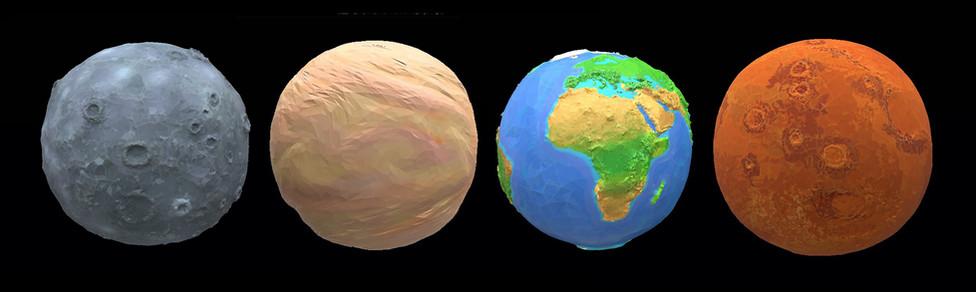 ЛЕО  планети земної групи