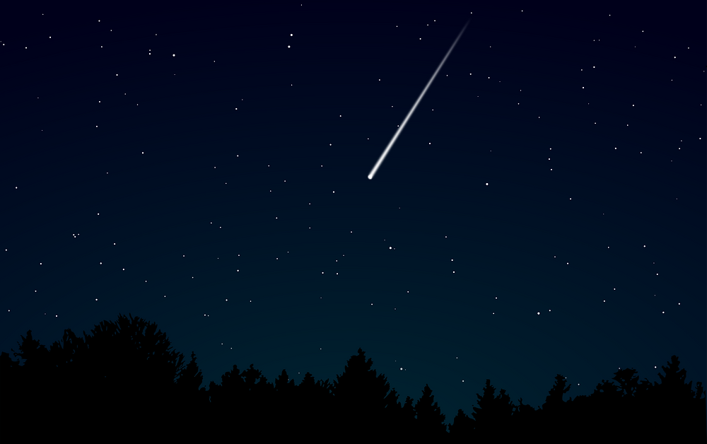 Метеор. Ілюстрація