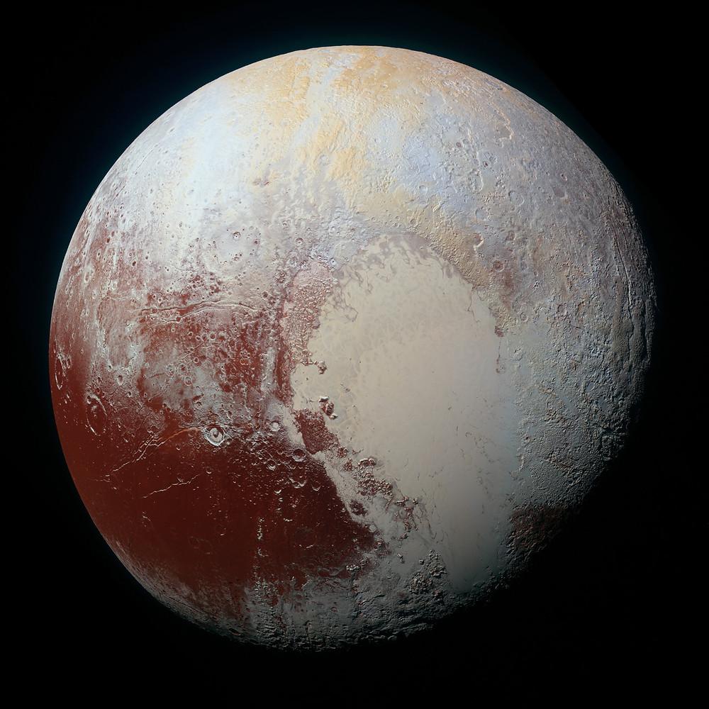 Плутон. Фото 14.07.2015