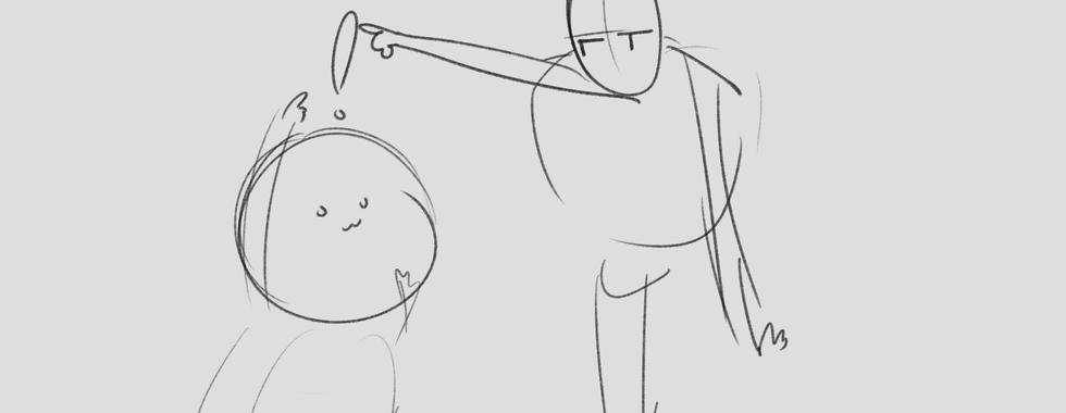 Early Storyboard (Shot 3)