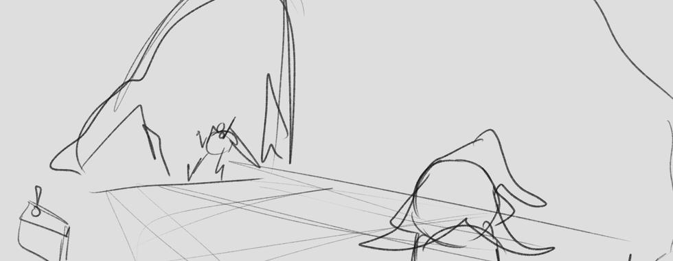 Early Storyboard (Shot 22)