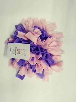 Mini mata węchowa fioletowo różowa
