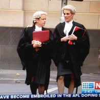TV coverage - barrister wig and robes.jp