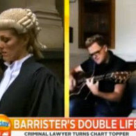 TV coverage - barrister wig and robes vs