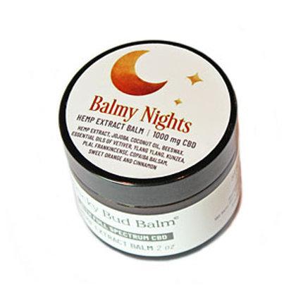 Balmy Nights – Sticky Bud Balm – 100mg 2oz Jar