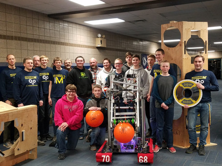 Mechanical Masterminds are Geared Up for Spring Regional Competitions