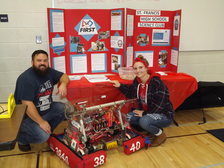 Recruiting for FIRST Robotics