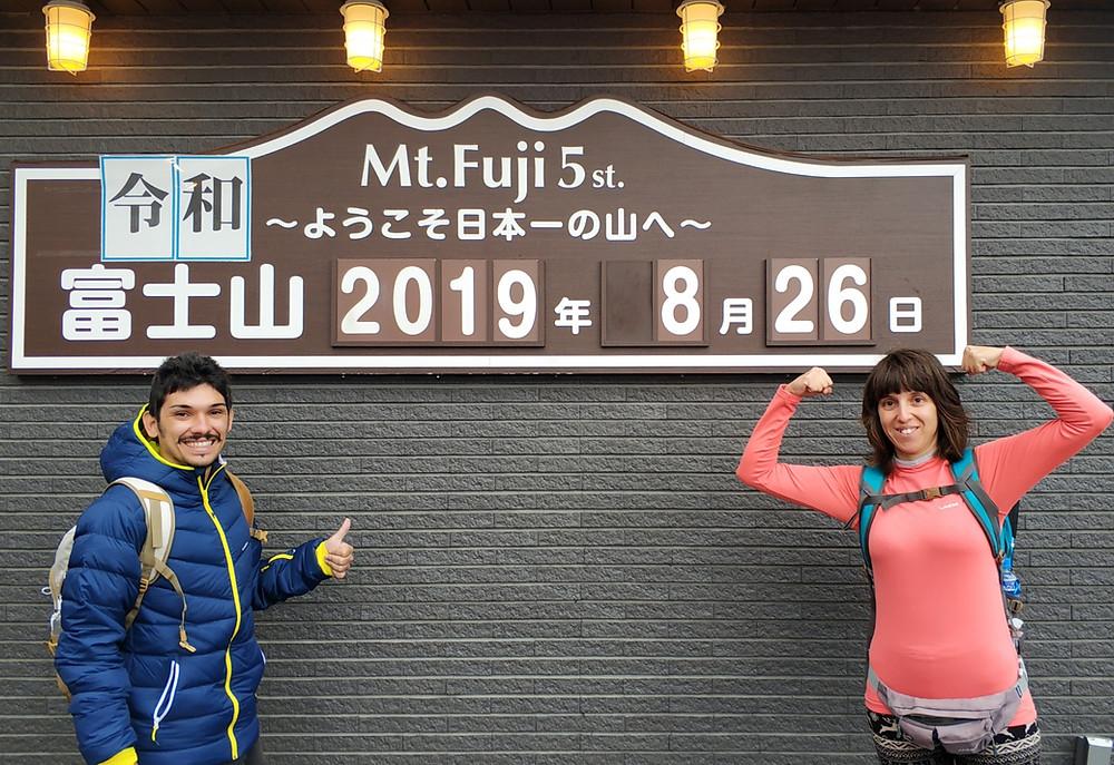 Stazione 5 del Monte Fuji