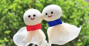 Teru Teru Bozu, la bambolina che allontana la pioggia