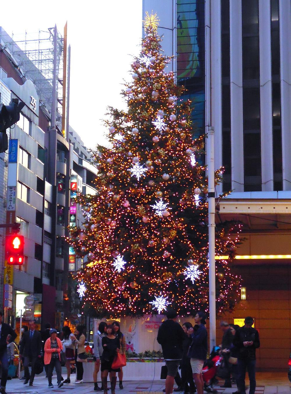 Albero di Natale in Giappone