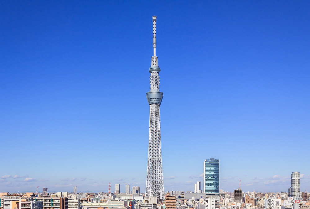 Sky Tree a Tokyo