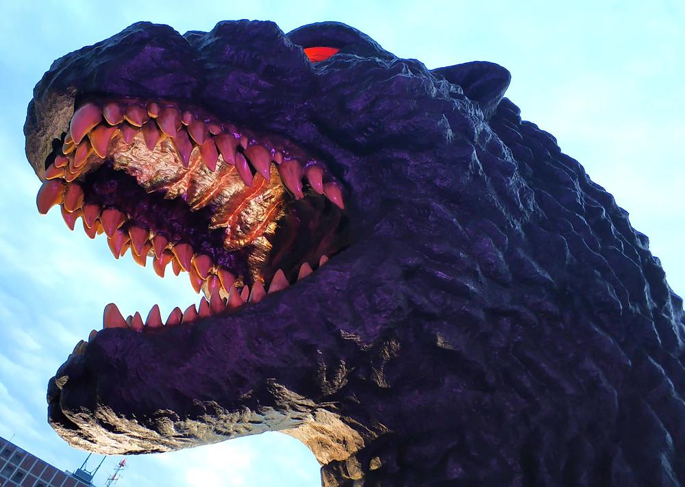 statua di Godzilla