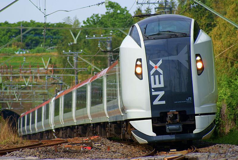 Frontale del Narita Express