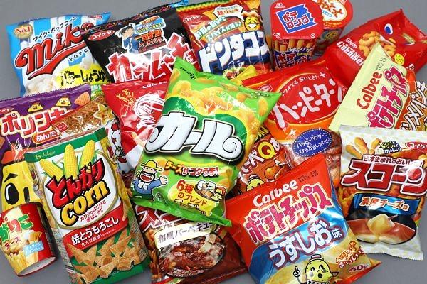 snack giapponesi