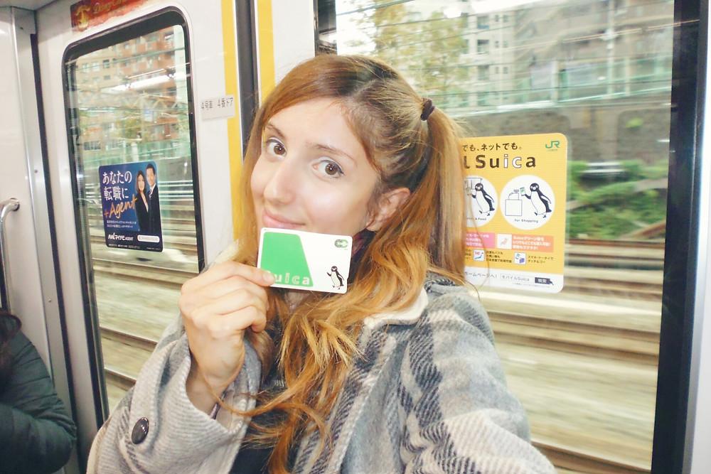 Treno in Giappone