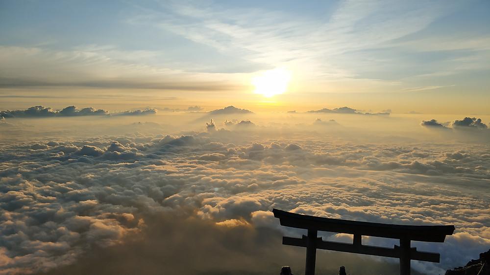 Panorama dal Monte Fuji