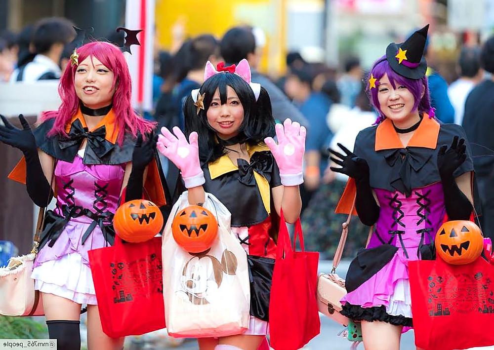 giapponesi in coslpay