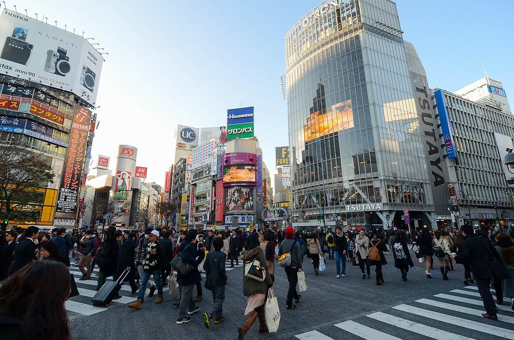 L'incrocio più famoso del mondo a Shibuya