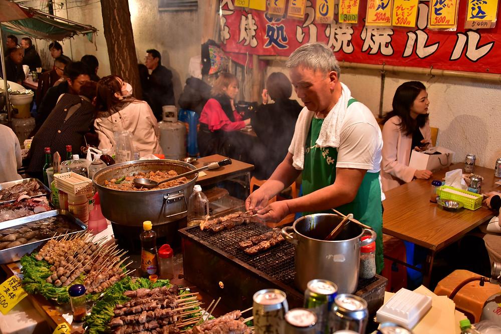 Street food a Osaka