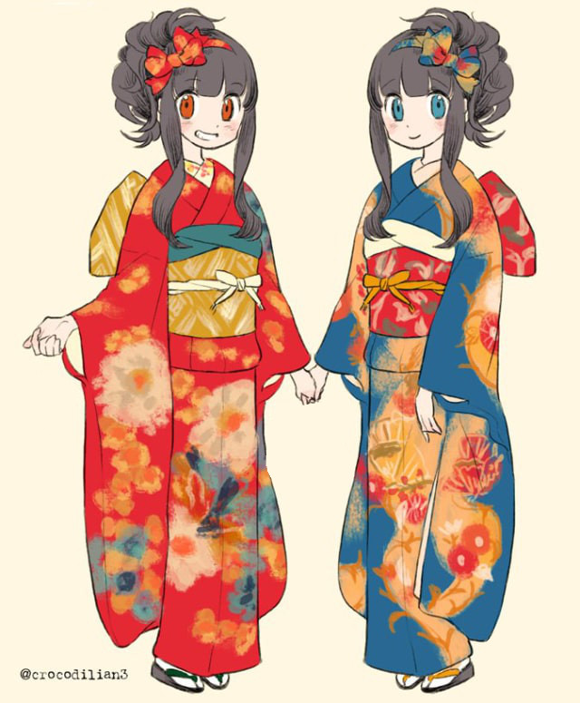 artwork kimono