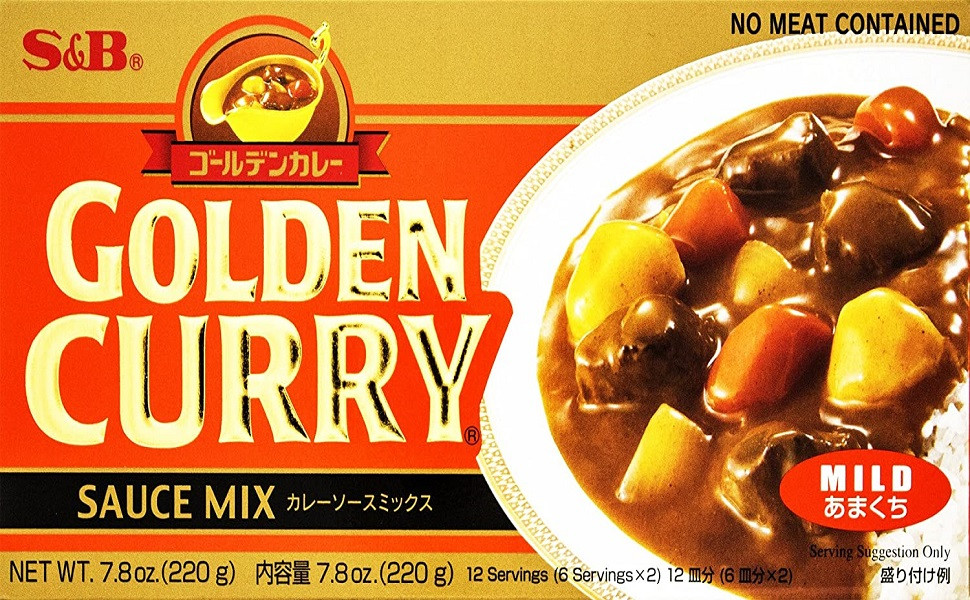 Golden curry giapponese