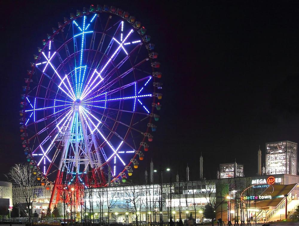 Odaiba Palette Town ruota panoramica