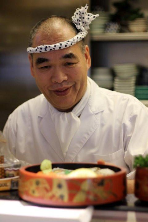 Chef Shiro di Poporoya